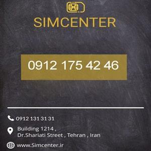 خرید سیم کارت 09121754246