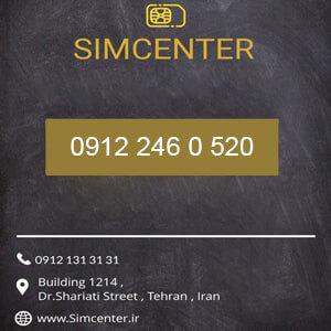 سیم کارت 09122460520
