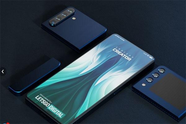 شیائومی قصد ساخت گوشی سه قسمتی را دارد